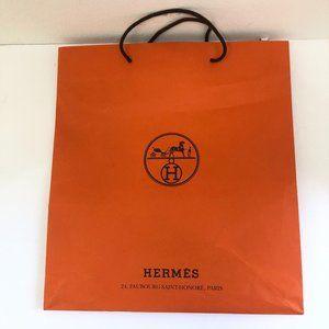 """Hermés large shopping bag 18""""x16.5""""x5"""""""